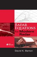 Radar Equations for Modern Radar