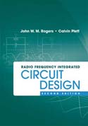 Radio Frequency Integrated Circuit Design, Second Edition